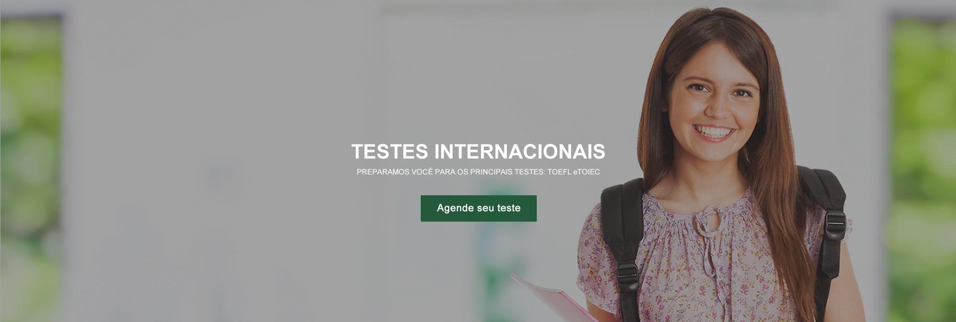 Testes internacionais